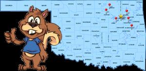 Tulsa Bail Bonds Map
