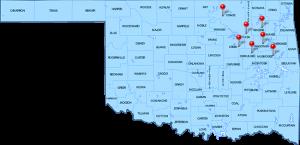 Signature Bail Bonds of Tulsa Map