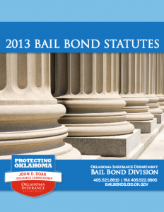 Oklahoma Bail Bonds Statutes 2013
