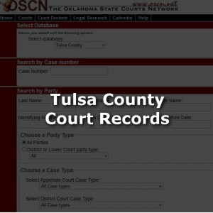 Tulsa County Court Records