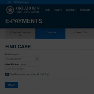 Tulsa Court Cost & Fine Payments