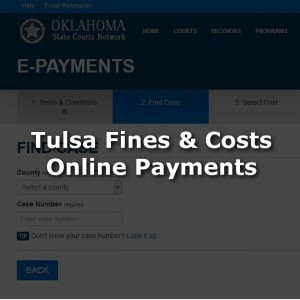 Tulsa Court Costs & Fines - Signature Bail Bonds of Tulsa