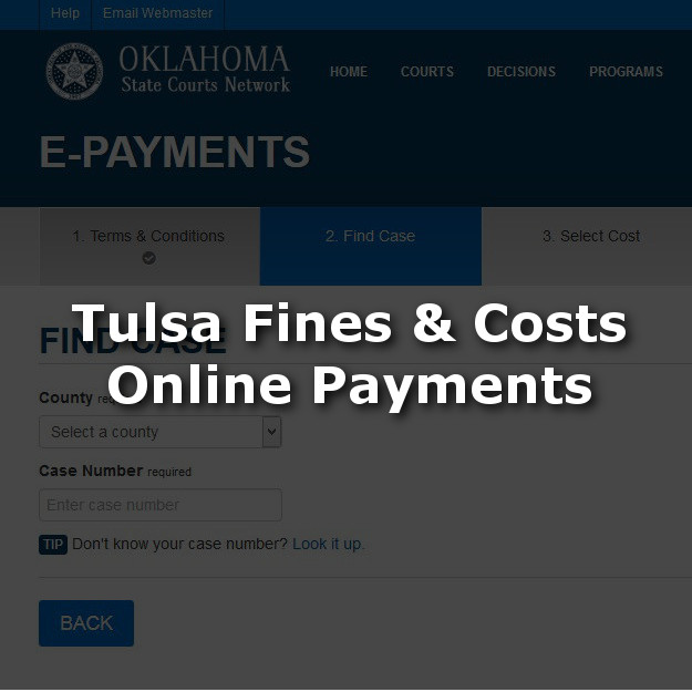 Pay Tulsa Fines and Costs