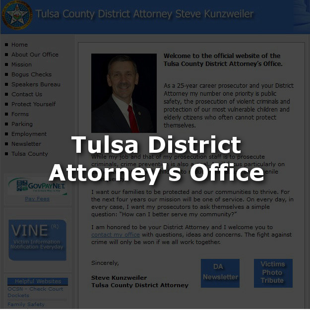 Tulsa District Attorney's Office