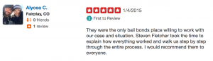Signature Bail Bonds Review on Yelp