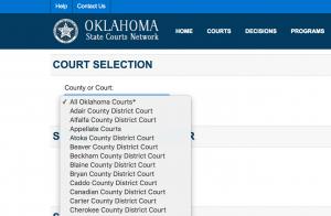 Tulsa Court Records Search