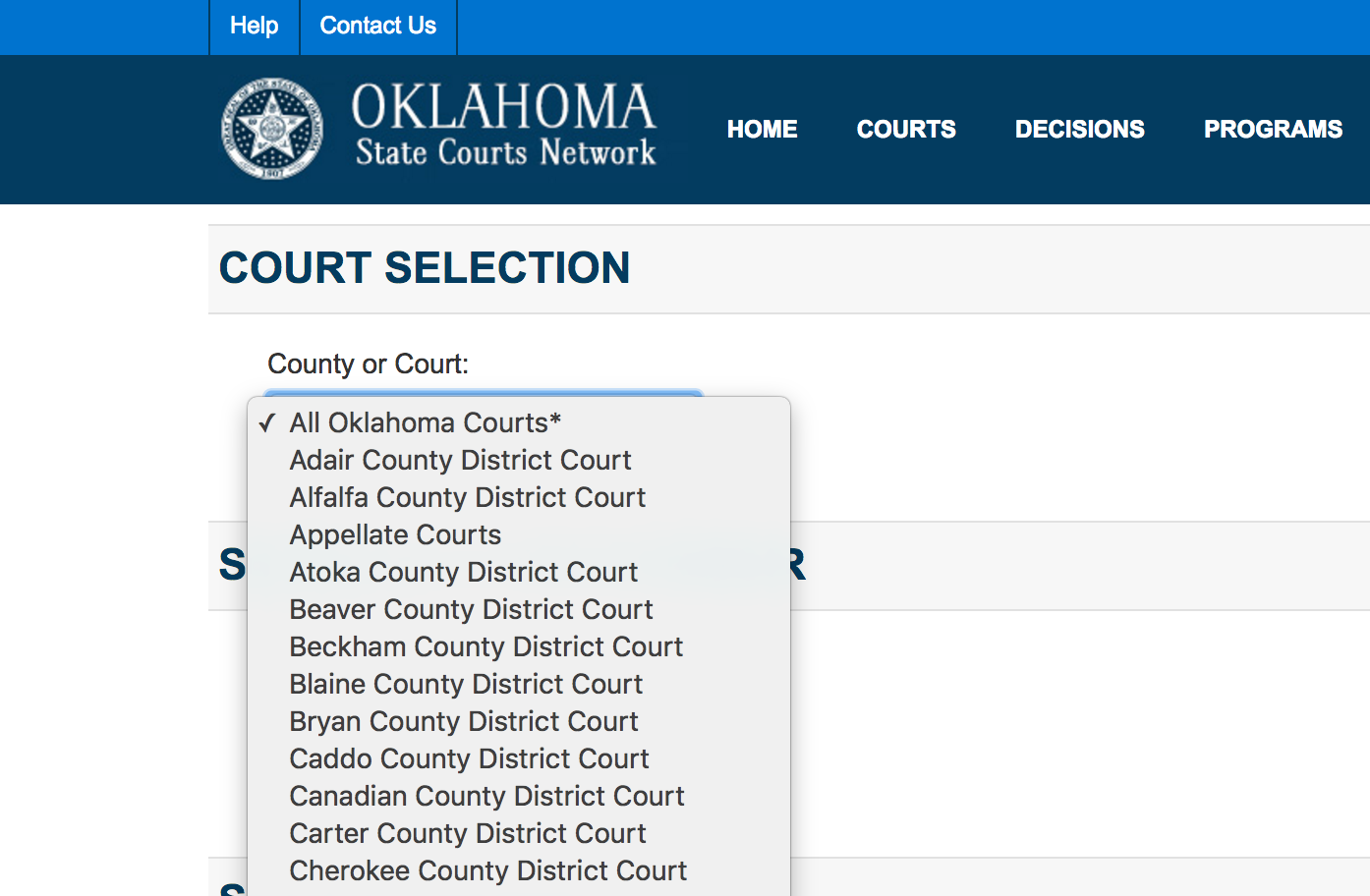 How to find my court date online